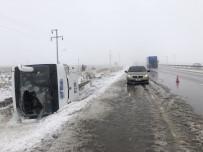 Konya 'Da 2 Tur Otobüsü Kaza Yaptı Açıklaması 1 Ölü, 40'Dan Fazla Yaralı