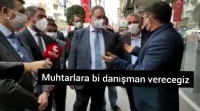 Malatya'da CHP heyetine esnaftan tepki!