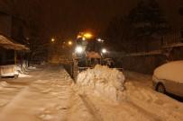 Nevşehir Belediyesi Karla Mücadele Çalışmalarını Sürdürüyor
