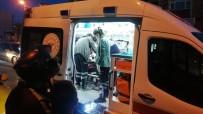 Otomobil İle Çarpışan Motosikletli Yaralandı