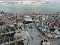 (ÖZEL) Atatürk Kültür Merkezi'ndeki Dış Cephesi Son Halini Alıyor