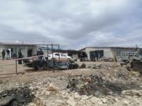 Sivas'ta Patlayan Tüp Tankı 5 Kişinin Yaralanmasına Neden Oldu
