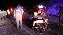 Yangına Giden İtfaiye Aracı Kaza Yaptı Açıklaması 2'Si Ağır 5 Yaralı