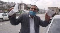 Cam Filmi İle Yakalanan Sürücünün Savunması Pes Dedirtti