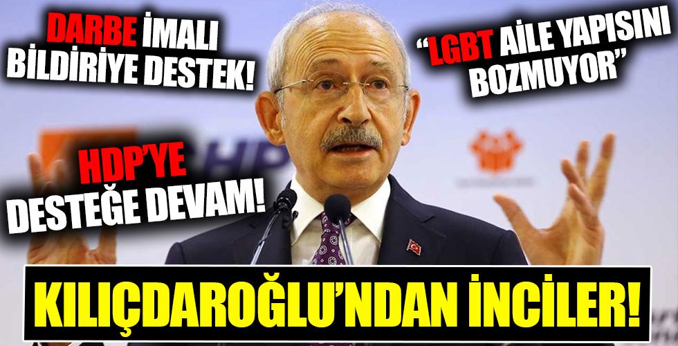 CHP lideri Kemal Kılıçdaroğlu'ndan inciler!