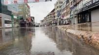 Düzce'ye 3 Saatte 36 Kilogram Yağış Düştü