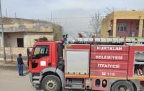 Siirt'te Evin Odunluğunda Çıkan Yangın Korkuttu