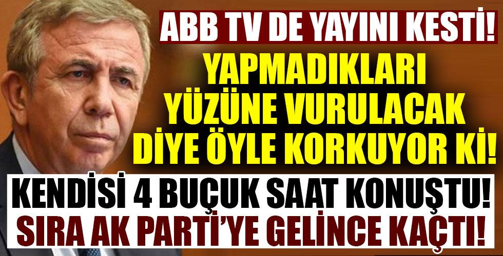 ABB Meclisi'nde 4.5 saat konuşan CHP'li Mansur Yavaş, konuşma sırası AK Parti'ye gelince salonu terk etti!