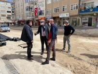 Belediye, Müftülük Caddesinde Altyapı Çalışmalarına Başladı