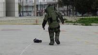 Burdur'da Gerçeği Aratmayan Bomba İmha Tatbikatı