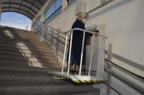 Engelli Ve Yaşlıların Kullandığı Asansör Onarıldı