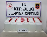 Iğdır'da Sahte Alkol Operasyonu