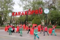 Karaköprü'de Bando Gösterisi Ve Kortej Yürüyüşü Yapıldı