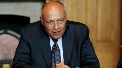 Mısır Dışişleri Bakanı Şükri: Türkiye'nin adımlarını takdir ediyoruz
