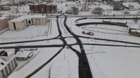 Nevşehir'de Kar Kalınlığı 42 Cm Olarak Ölçüldü