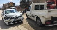 Otomobil İle Pikap Çarpıştı Açıklaması 1 Yaralı