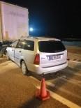 Otomobil Tıra Arkadan Çarptı Açıklaması 1 Yaralı