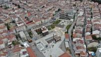 (Özel) Kadıköy'de Restore Edilen Tarihi Hasanpaşa Gazhanesinin Son Hali Havadan Görüntülendi