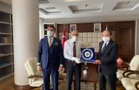 Rektör Bülent Çakmak, Bakan Yardımcısı Yavilioğlu'nun Konuğu Oldu
