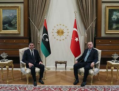 Türkiye ve Libya'dan kritik görüşme!