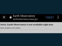 Van Gölü'ne Oy Yağmuru Açıklaması NASA'nın Sitesi Çöktü