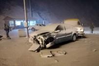 Zigana Dağında Trafik Kazası Açıklaması 1 Yaralı