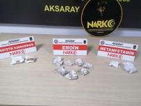 Aksaray'da Uyuşturucu Operasyonu Açıklaması 5 Tutuklama