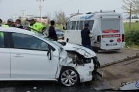 Aydın'da Trafik Kazası Açıklaması 1 Yaralı