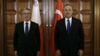 MALTA - Bakan Çavuşoğlu Maltalı mevkidaşı ile görüştü