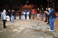 Elazığ'da Klarnetli, Davullu Sosyal Mesafeli Sahur Halayı