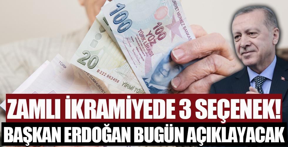 Erdoğan bu akşam açıklayacak: Emeklinin bayram ikramiyesinde üç farklı rakam