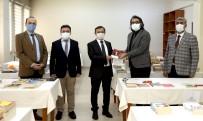 ERÜ Rektörü Prof. Dr. Mustafa Çalış Kitap Bağışında Bulundu