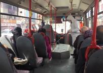 Erzincan'da Toplu Taşıma Araçları Dezenfekte Edildi