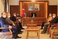 KAPTİD Yönetimi Vali Becel'i Ziyaret Etti