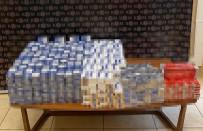 Osmaniye'de Bin 280 Paket Bandrolsüz Sigara Ele Geçirildi