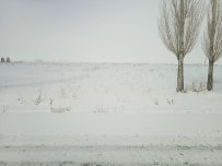 Özalp İlçesinde Kar Sürprizi