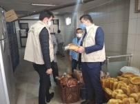 Tekirdağ'da Market Ve Fırınlara Koronavirüs Denetimi