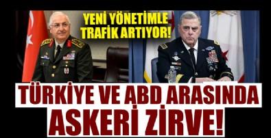 ABD ve Türkiye arasında askeri zirve!