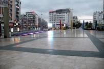 Antalya'da Sokaklar Issızlığa Büründü