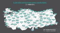 Bilecik'te Haftalık Korona Virüs Vaka Sayısı Hızla Artıyor
