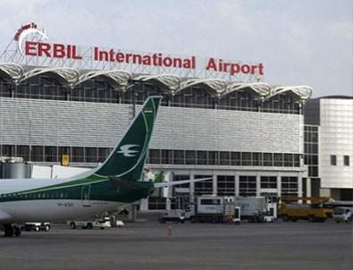 Erbil Havalimanı'na füze isabet etti!