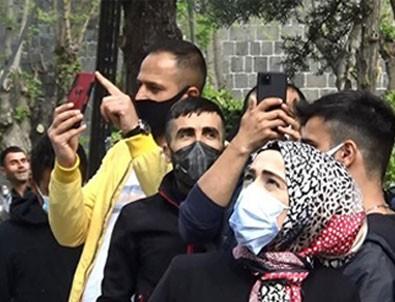İntihar girişimini böyle izlediler! Telefonlar çekildi! Canlı yayınlar başlatıldı!