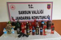 Jandarmadan Kaçak İçki Operasyonu Açıklaması 1 Gözaltı