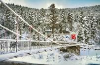 Kastamonu'da Kar, Kartpostallık Görüntüler Oluşturdu