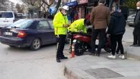 Kırıkkale'de Motosiklet Kazası Açıklaması 1 Yaralı