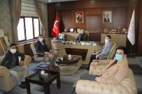 Türkiye Gençlik Vakfı'ndan Ağrı Milli Eğitim Müdürü Tekin'e Ziyaret