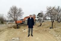 Başkan Altay Meram Çamlıbel Çevre Düzenlemesini İnceledi