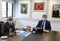 Başkan Palancıoğlu, Veli Altınkaya İçin Başsağlığı Diledi