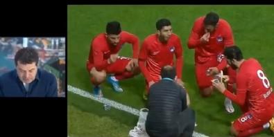 Cüneyt Özdemir'den oruç tutan futbolcu yorumu! Önce dalga geçti sonra özür diledi