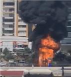 Diyarbakır'da Çocuk Parkında Korkutan Yangın